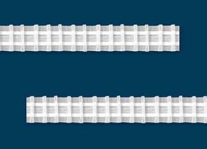 Ceruza  ráncolású ráncoló szalag  2,5cm széles ( ráncol 1:2 )