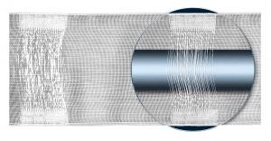 Bujtatós szalag 10cm széles ( ráncol 1:2 )