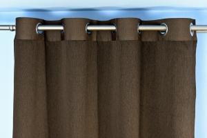 Páska hnedá so striebornými kruhmi - šírka 10cm už iba 5,25m