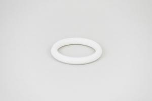 Krúžok plastový farba – biela