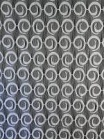 Hotová záclona kruhy