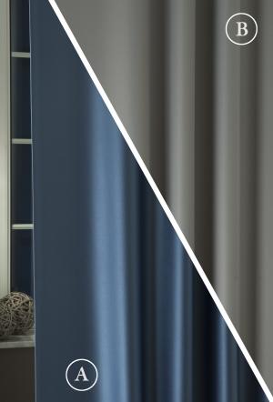 """Záves black-out metrážový modro-šedý 043 """"Pierot"""""""