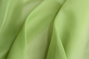 Záclona metrážová voál hladký bledo-zelený