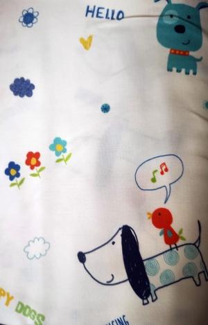 Závěs pro děti metrážový dekorační