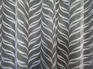 """Hotová záclona bíla """"Dorota"""" žakarová rozmerů: 180cm × 400cm"""
