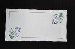 Dekorační bílý ubrus 40 x 90cm