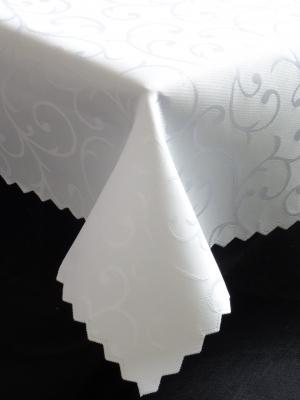 Dekoračný bielý teflónový obrus rozmerov: 40 x 80cm