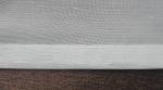 Záclona bíla s bežovým vzorom metrážová voál 12145 02 L