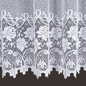"""Záclona metrážová žakar """"žakarový květ"""" 017480"""