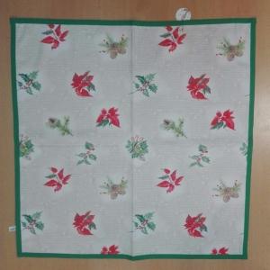 Vianočný obrus rozmerov: 75 x 75 cm, material: bavlna