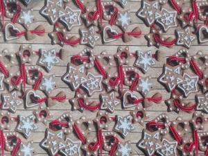 Vianočný obšitý obrus Vami zvolených rozmerov 1, material: bavlna