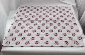 Vianočný obrus rozmerov: 55 x 55 cm, material: bavlna
