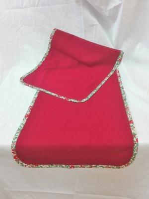 Vianočný obrus rozmerov: 43 x 130 cm, material: bavlna