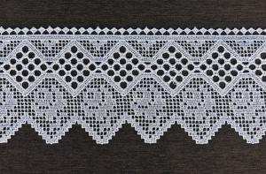 Bíla krajka šířky: 13cm typ