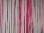 Šnúrková bordová záclona, rozmeru 250 × 300cm ( posledný kus )