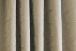 Sötétítő függöny, méterárú, szürkés - barna