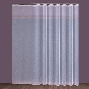 """Készrevarrt, fehér függöny  """"Eső"""" méretei: 160cm × 310cm"""