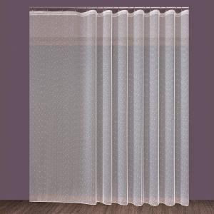 """Készrevarrt, Voile krém színű függöny """"Eső"""" méretei: 160cm × 400cm"""