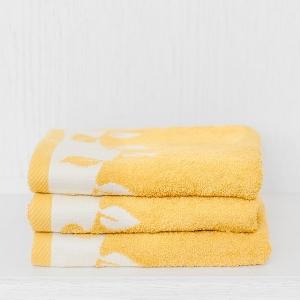 """Frottír törölköző vagy fürdőlepedő """"világos sárga"""""""