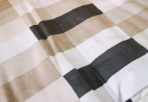 Obliečka flanelová sivá geometrické vzory 70cm×90cm (1ks) + 140cm×200cm (1ks)