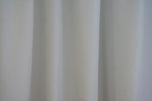 "Záclona metrážová svetlohnedý voál se zátežovým olůvkem ""Canberra 06"" sivá"