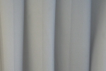 "Záclona metrážová svetlohnedý voál se zátežovým olůvkem ""Canberra 06"" tmavší sivá"