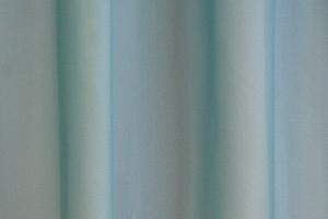 """Záclona metrážová svetlohnedý voál se zátežovým olůvkem """"Canberra 44"""" tyrkisová"""