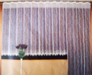 Hotová záclona žakár na okno rozmerov: 160cm x 400cm Anife 1