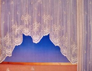 """Hotová záclona žakár """"Adwin 2"""" rozmerů: šířky 180cm × výšky 350cm"""