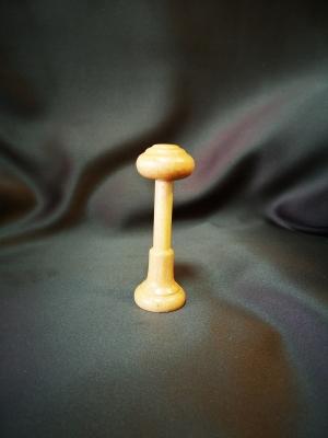 Držiak uväzovania záclon drevený odtieňu: