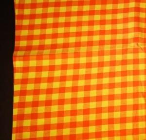 Dekoračný obrus rozmerov retro oranžový: 120 x 140cm