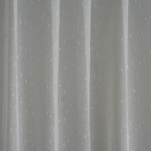 Voile, fényáteresztő függöny, méterárú Rita fehér színű