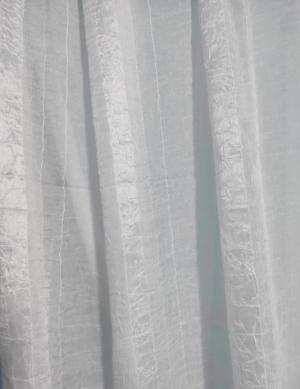 Záclona biela metrážová kreš