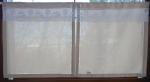 Hotová záclona vitrážka