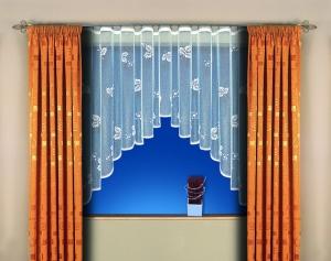 """Hotová záclona žakár """"Broňa"""" 160cm × 350cm"""