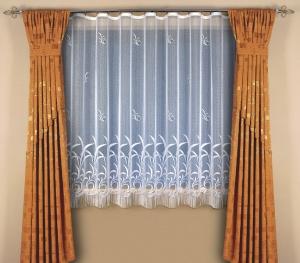 """Hotová záclona žakar """"Kveta"""" 240cm × 300cm"""