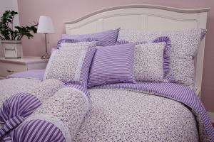 """Obliečka bavlnená """"Provence"""" set rozmerov: 70cm×90cm (2ks) + 140cm×200cm (2ks)"""