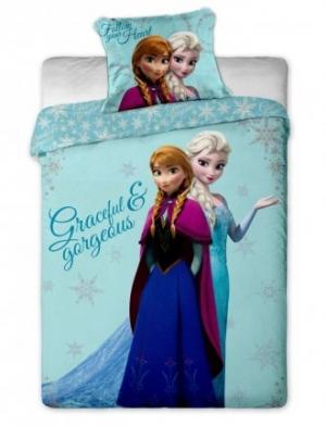 """Obliečka detská """"Frozen"""" rozmerov: 70cm×90cm (1ks) + 140cm×200cm (1ks)"""