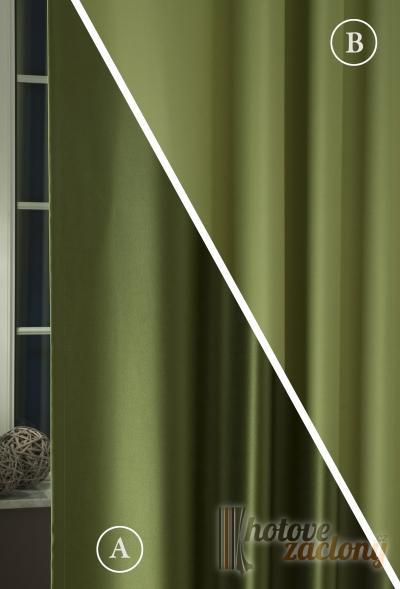 """Závěs black-out metrážový olivová-zelená """"Pierot"""" 013"""