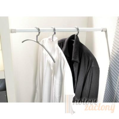 Rozpěrná tyč bílá délky: 80 - 130 cm průmeru: 2,5 cm
