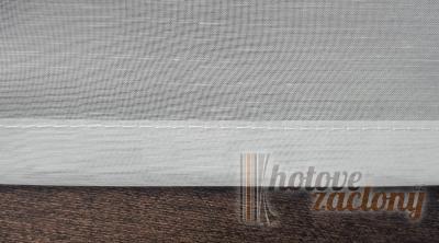 Záclona metrážová bíla kreš