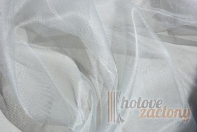 "Záclona ""bíla"" metrážová Organza 44060-01"