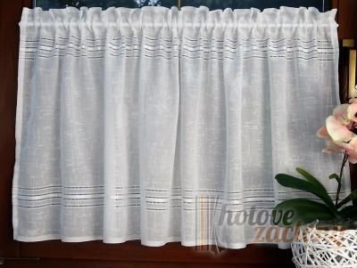 """Hotová záclona vitrážka """"Dia"""" (440_01)"""" rozměr: 60 × 100cm"""