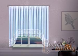 Hotová záclona krajková W 160cm × 390cm