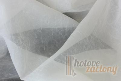 Hotová záclona kreš Krémová (2)