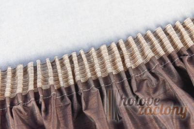 """Hotová souprava """"Rita"""" farba krémová rozmerů: 160cm × 140cm + 40cm × 330cm"""