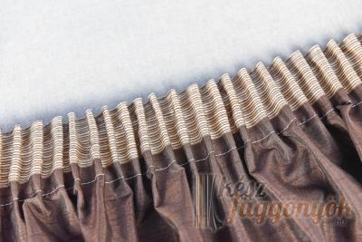 Ceruza ráncolású ráncoló szalag 5cm széles ( ráncol 1:2 )