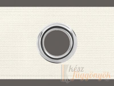 Fehér szalag ezüst karikával szélessége: 6cm