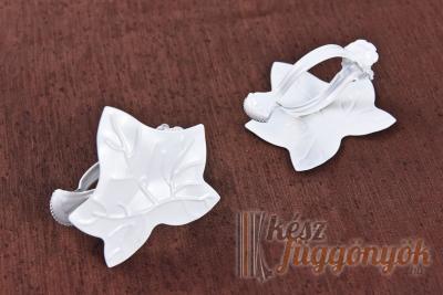 Fehér dekor csipesz