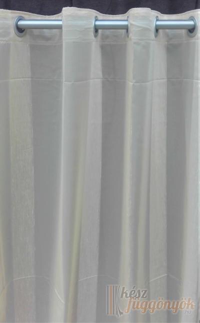 Készreverat könyű dekoratív bézs függöny N 04